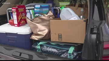 Coastal residents evacuate ahead of Hurricane Dorian
