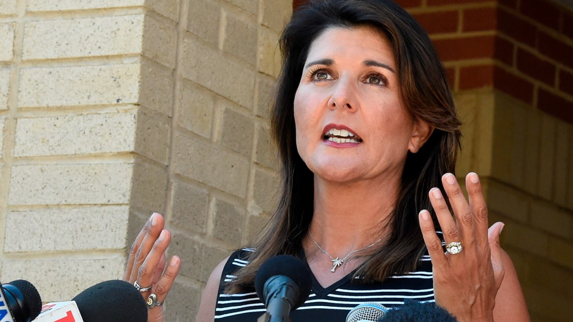 Nikki Haley says she won't run for president if Trump does