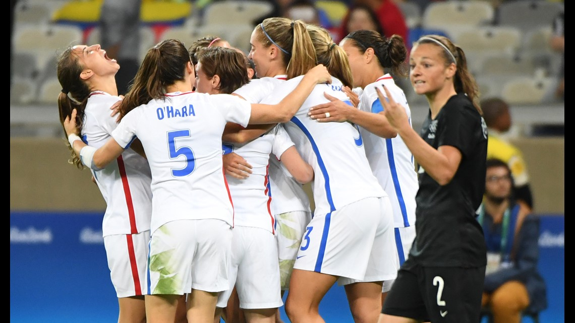 USWNT Wins Biggest Game In Women's World Cup History