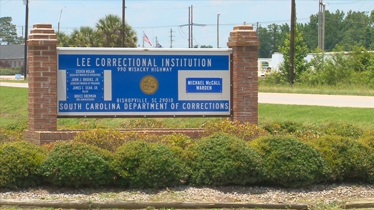 Reported 'ongoing incident' at the Lee Correctional Institution