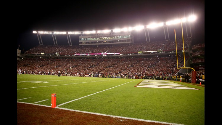The University of South Carolina has announced that they are now offering season tickets to home football games for parents of full time students.