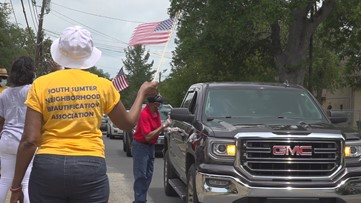 Sumter drive-up fish fry honors the fallen on Memorial Day