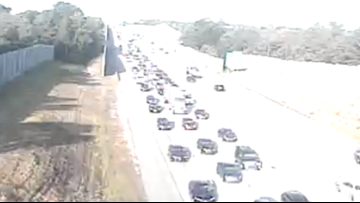 Lanes reopen on I-20 after morning vehicle fire