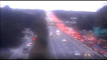 I-26 Eastbound reopens heading into Columbia after crash