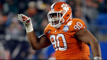 Dexter Lawrence makes it a trio of Tigers in the first round of the NFL Draft