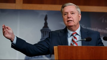 Lindsey Graham says President Trump has a 'sense of relief'