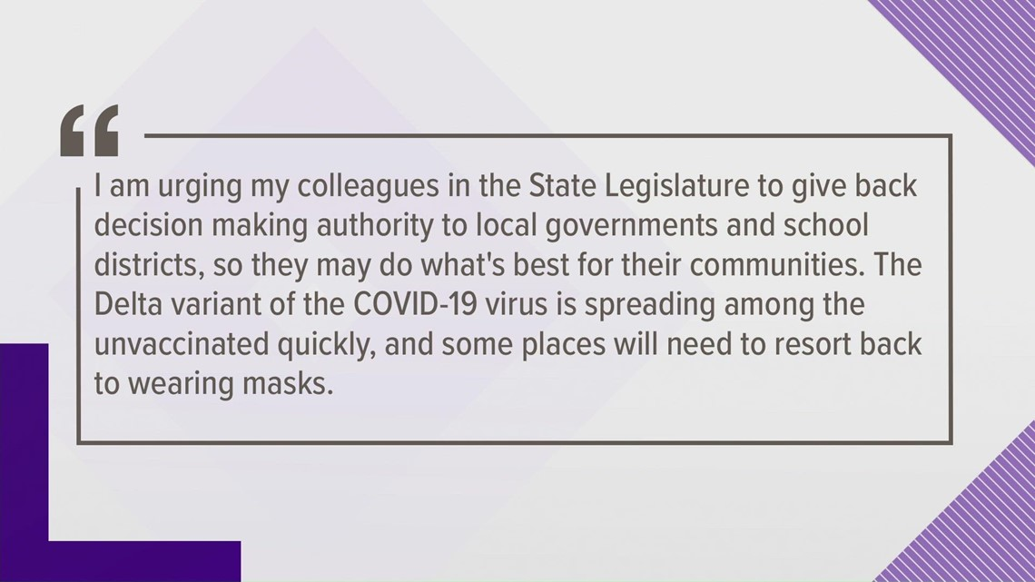 State senator speaks on SC's COVID response
