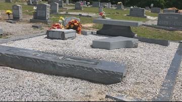 'We have forgiven them': Lexington church victim of cemetery vandalism