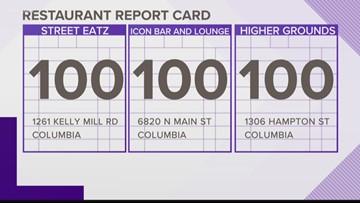 Restaurant Report Card February 21  2019