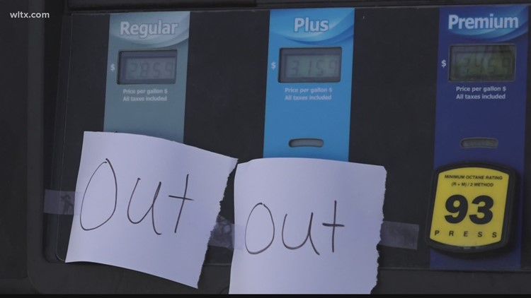 Over half of SC gas stations without gas