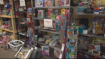Mission Lexington helping families provide toys for children for Christmas