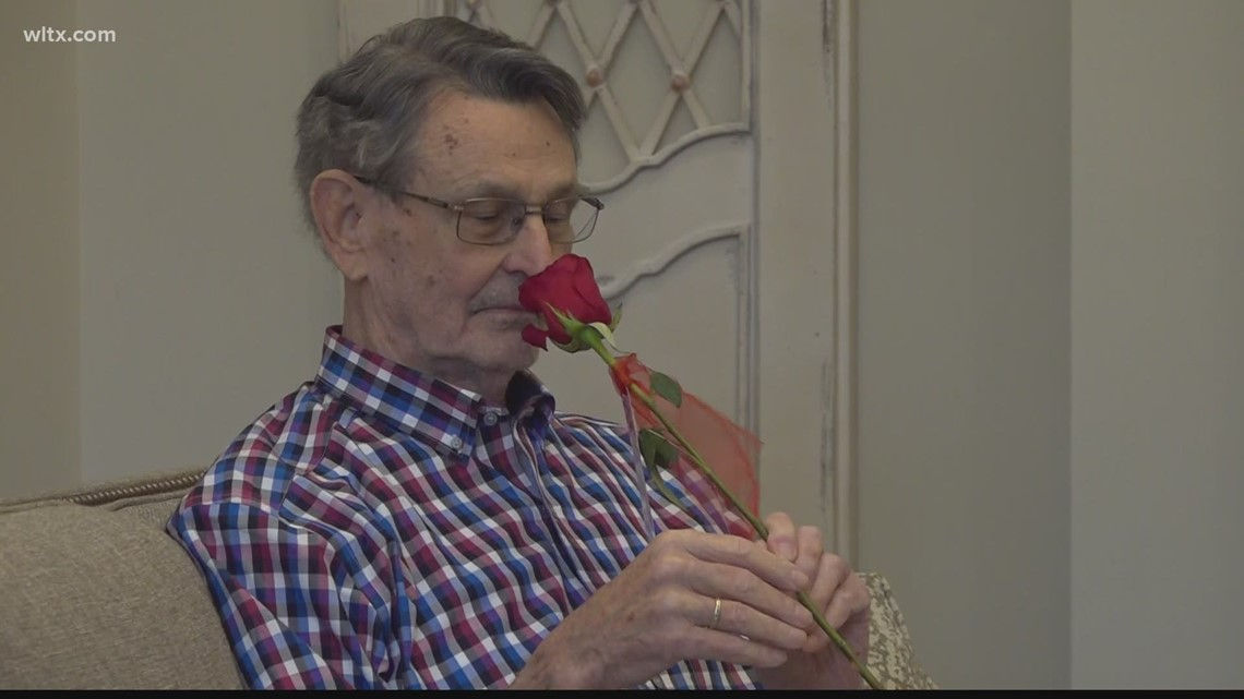Seniors receive Valentines Day gifts to remind them they are loved
