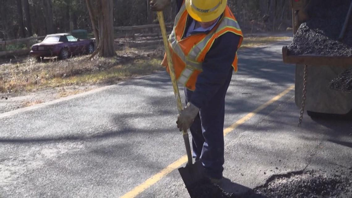 SCDOT repairing potholes, road surfaces in Sumter