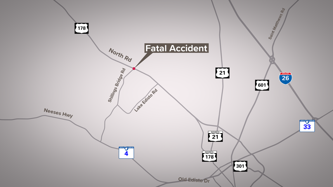 One dead after vehicle overturns several times in Orangeburg County