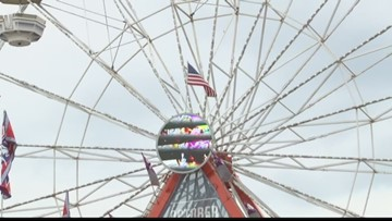 Couple married for 50 years loves coming to the fair