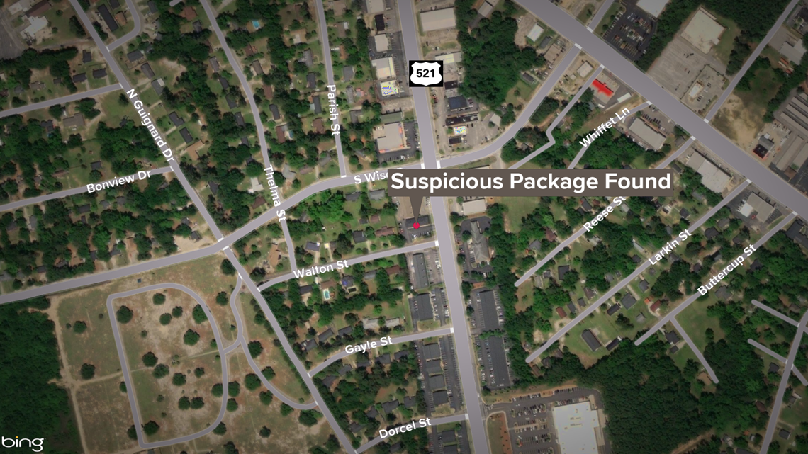 Suspicious package in Sumter temporarily closed businesses, stopped traffic