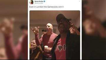 Hootie & the Blowfish celebrate like crazy over USC's upset of Georgia
