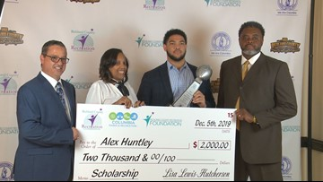 Hammond's Alex Huntley named Mr. Richland County Player of the Year