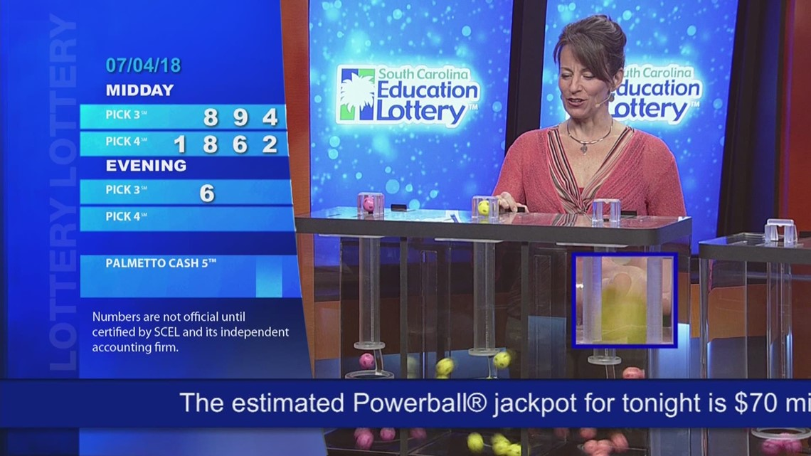 Evening Lottery Results July 4, 2018