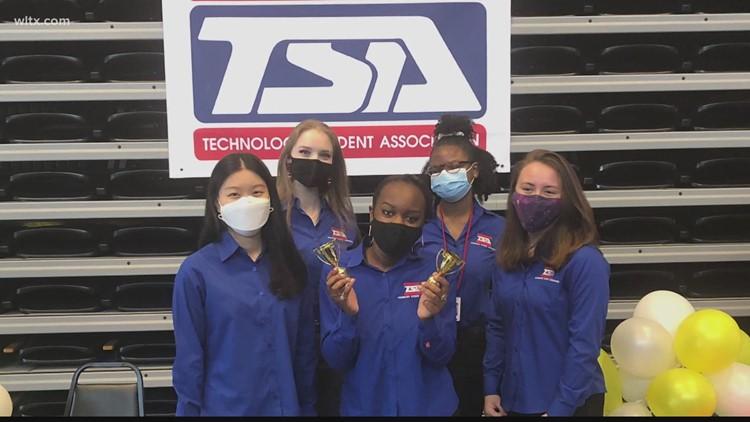 Irmo students win technology awards