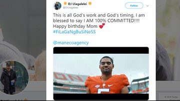 Clemson lands top quarterback in the 2020 Class