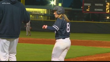 One Girl Becomes The First Female Starting Pitcher For A Boys High School Baseball Program In The Midlands