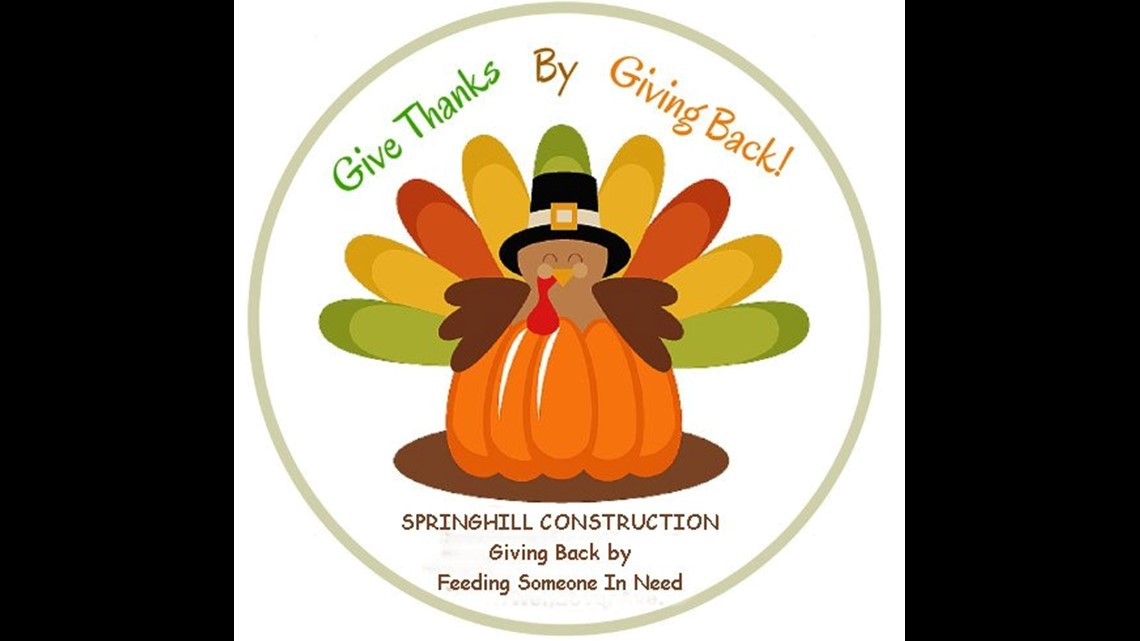 Local company offering Thanksgiving meals