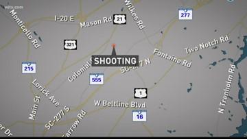 Police investigating Columbia shooting