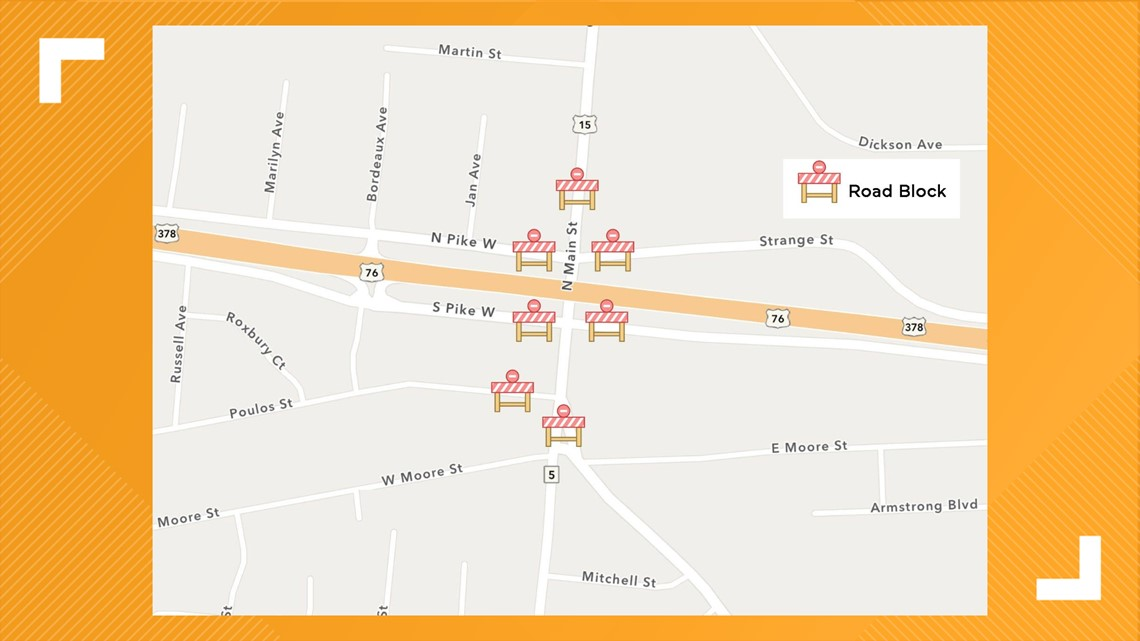 North Main Street in Sumter to close for two weekends