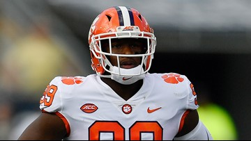 Clemson's Clelin Ferrell picked by the Raiders in the 1st Round of the NFL Draft
