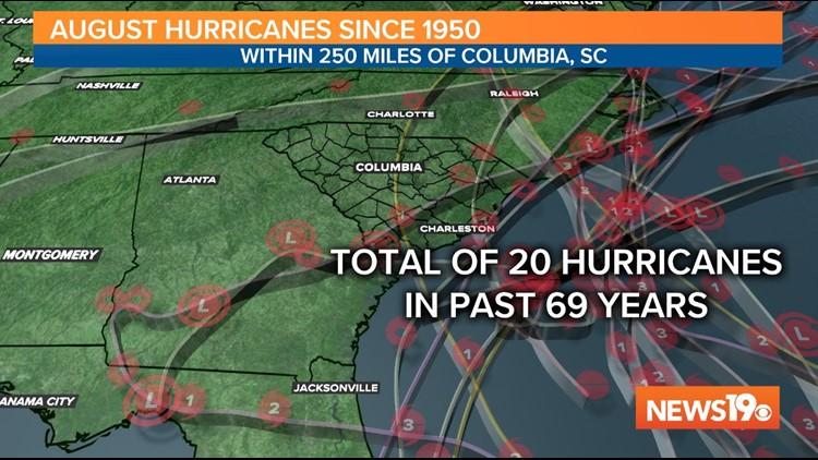 20 Hurricanes August