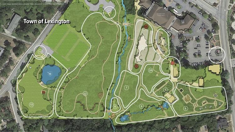 Virginia Hylton Park Update Map