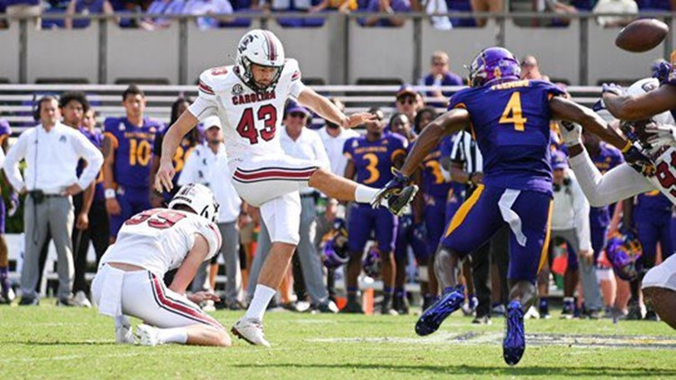 Parker White named SEC Co-Special Teams Player of the Week