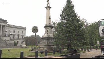 South Carolina Christmas tree arrives in Columbia