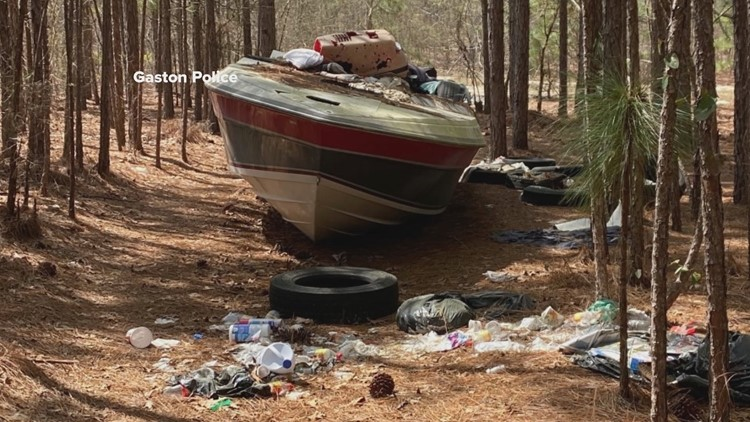 Gaston Police cracking down on illegal dumping