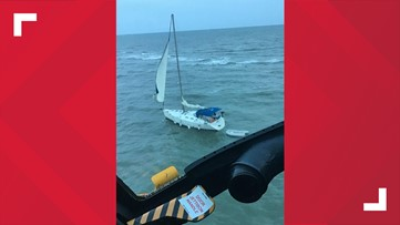 2 rescued by Coast Guard after vessel runs aground 3 miles east of Edisto Island