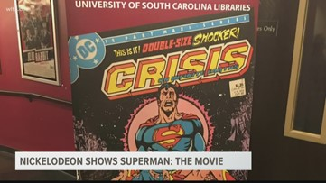 Nickelodeon Theater shows Superman: The Movie (1978)