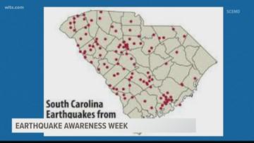 Earthquake Preparedness Week in South Carolina
