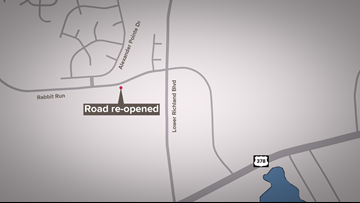 Lower Richland road reopens after construction repairs
