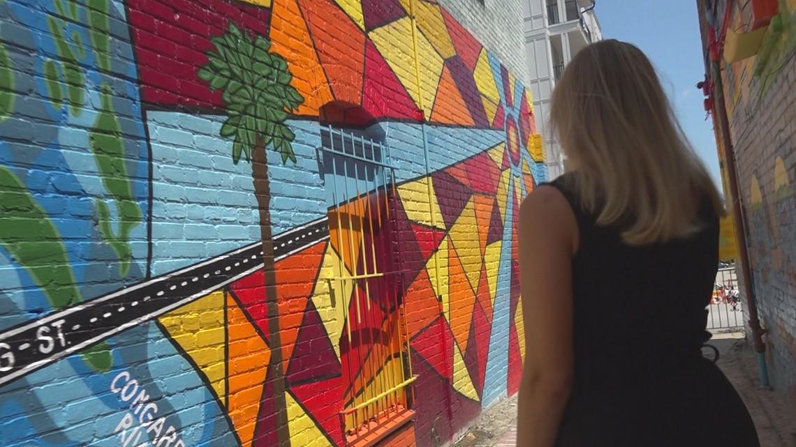 Phunky Artz murals hit West Columbia