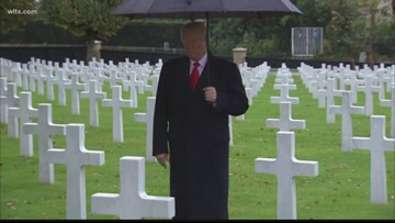 President Trump, world leaders commemorate end of World War I