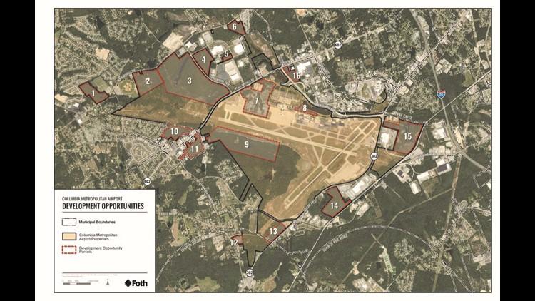 Columbia Metropolitan Airport property