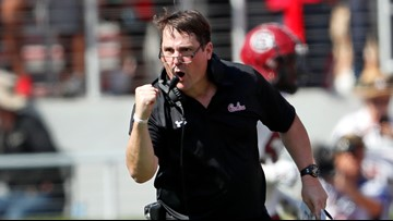 Ray Tanner: Will Muschamp is our football coach