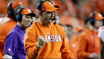 Back in the day - Dabo talks about bulletin board material