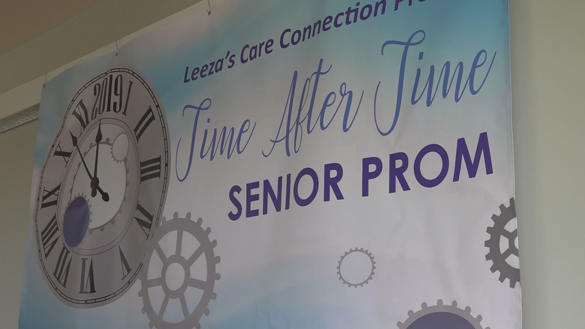 A senior prom event is supporting local non-profit