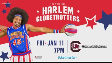 Harlem Globetrotters at Colonial Life Arena on Friday