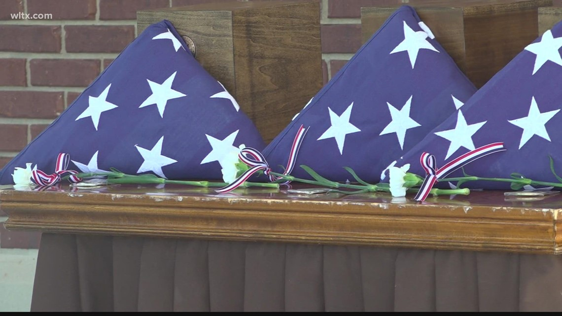 Unclaimed veterans laid to rest at Ft. Jackson National Cemetery