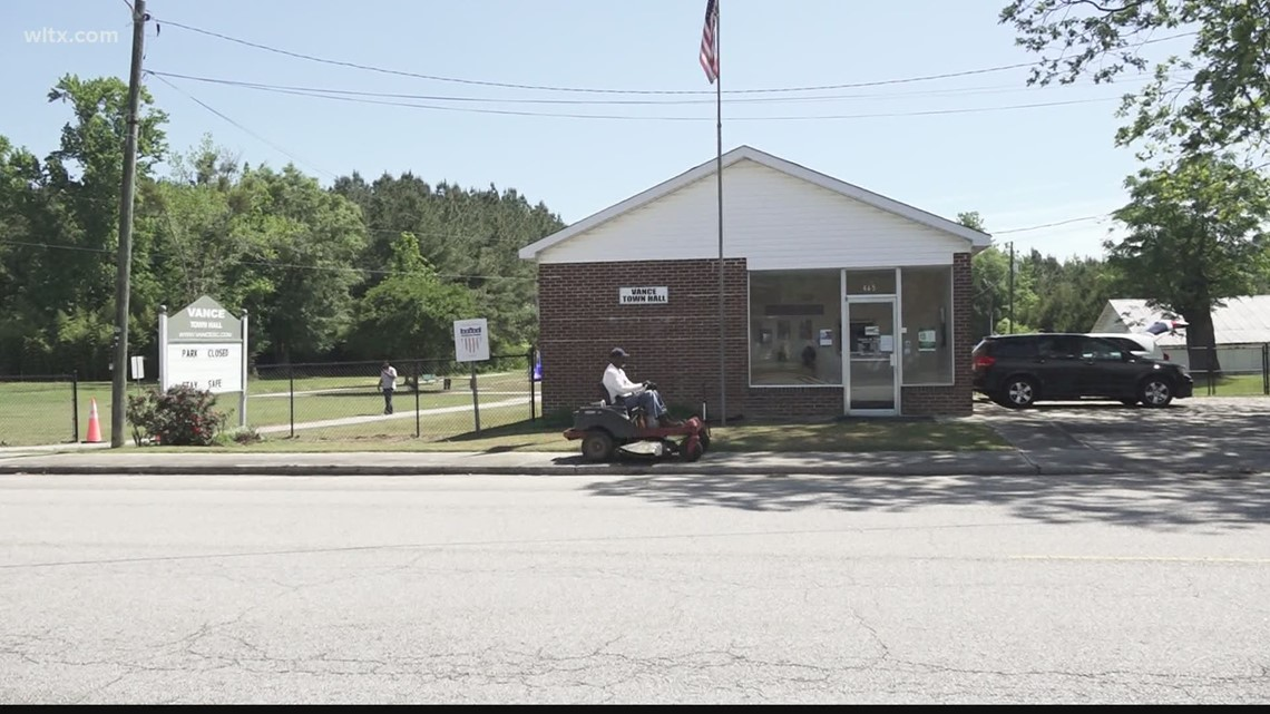 The town of Vance is hesitant to reopen