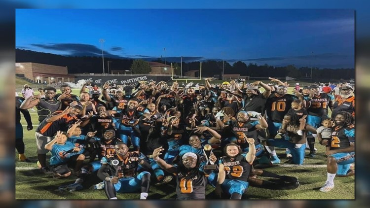 Back to Back! The Sumter Sharks win another IAFL Championship