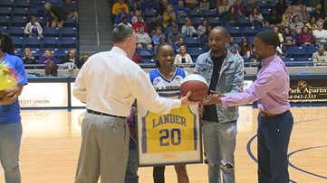 One on One with Lander guard Jessica Harris